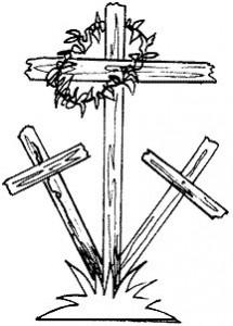 聖金曜日 十字架画像