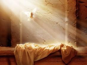 復活祭礼拝週報表紙の絵
