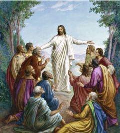 復活節礼拝週報表紙の絵①