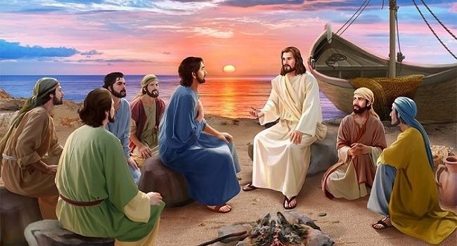 復活節礼拝週報表紙の絵②